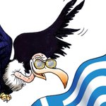 OCCHI PUNTATI SULLA #GRECIA! la mia nuova vignetta @fattoquotidiano #OXI #Tsipras http://t.co/U7UR8iv5t3