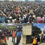 So many jobless in #Mombasa. Here, they turned up at Bandari College for KPA Jobs @kenyanpundit http://t.co/soQAI5nTkB