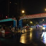 It may be raining, but the AJC Peachtree Road Race is rain or shine! #ajcprr #peachtreeroadrace http://t.co/zpJGloZnWg