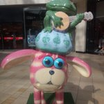 Spotted my first Shaun in Bristol - Bag puss Shaun in Cabot Circus http://t.co/UD4QMXnZXL