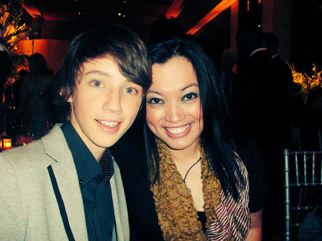 @troyesivan my random find yesterday... 2010. When you sweetly asked to sit by me at the French embassy dinner.