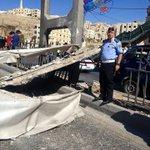 صور - انهيار جسر مشاة على طريق عمان الزرقاء #طريق_عمان_الزرقاء #انهيار_جسر #جريدة_الرأي http://t.co/ZR2NkccOzj http://t.co/xBLf89l4eq