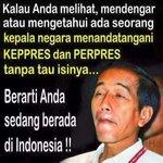 Indonesia makin ancuuuuur #ngakakSampaiMerauke #JokowiSalahTeken http://t.co/EYf9A191Tu