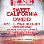 Buena música, sol y playa. ¡#CCMOnTheBeach! Entrada gratuita. 1 Agosto en Playa de Campello. http://t.co/E1ZcfMDTVI http://t.co/l8faSTudhb