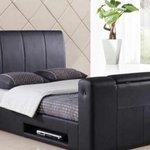 Kingsize tv bed only £395 @Craigs_beds #barnsleyisbrill #sheffieldissuper #york #leeds #southyorkshire http://t.co/8ZJMs7jofZ