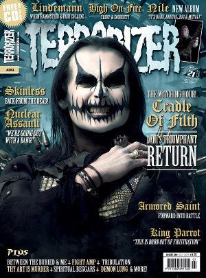 Terrorizer 261 Cradle ofFilth http://t.co/csTsIUK1mg http://t.co/RyJLwYL7s3