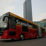 Bus Transjakarta Buatan Scania, Standardisasi sudah Euro 6 http://t.co/nMfBACqSB5 http://t.co/NiVgqLAdVD