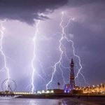 Superb picture of the lighting over Blackpool last night! #Blackpool Pic by @Stephencheatley http://t.co/dtDDLy6XOT