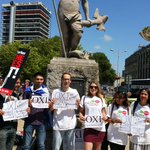 #SolidarityWithGreece #Bristol says #oxi to #austerity right now in the fountains. Join us!  http://t.co/uOcNDbuNHV