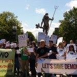 Bristol shows solidarity with Greece @bristolpa #AusterityKills #OXI http://t.co/d3NqV2J48b