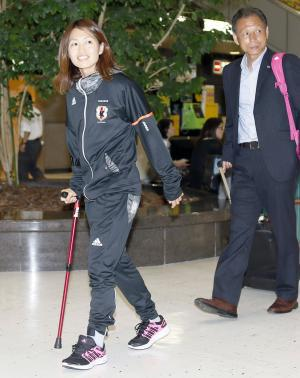 Kozue Ando is joining NADESHIKO for the final in Vancouver!!!! http://t.co/tgagRxWS4w