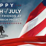 Happy #FourthofJuly! Thank you to the service men and women who protect our #freedom. #WWP #IndependenceDay #Merica http://t.co/rXMSX8ZS84