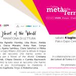 Stasera alle 21, il giro del mondo attraverso la voce delle donne del Novel of the World! #WomensWeeks #Expo2015 http://t.co/GpVJvdjHIZ