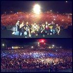 80 mila persone e unatmosfera da brividi!  Uno dei palchi più belli su cui sia mai salito 😄 GRAZIE! Stasera Roma! http://t.co/fM3RbV8QXh