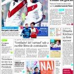 El tercer lugar más limpio de la #CopaAmericaChile2015 en la portada de @ELTIEMPO: #Perú http://t.co/FyYIO4Xvi3
