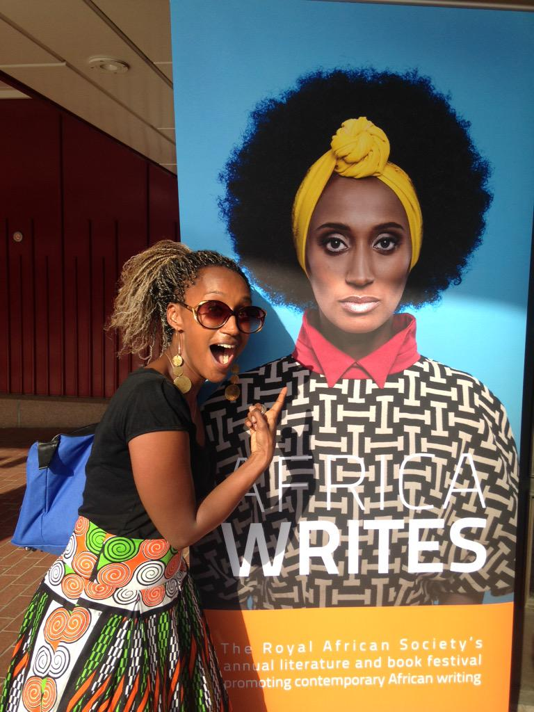 Thank you to @britishlibrary #AfricaWrites @royafrisoc for making this moment happen! http://t.co/Eiu8ScKDeH