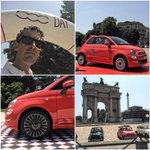 #500Day al Parco Sempione di Milano con la #nuova500! Ci vediamo su Periscope con @fiatontheweb! http://t.co/au5v5Q7WWF