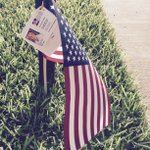 Happy 4th of July and thank you @homesbyhicks for our #AmericanFlag. Enjoy the day and pls be safe. @CityOfArlington http://t.co/v5XZEDtScz