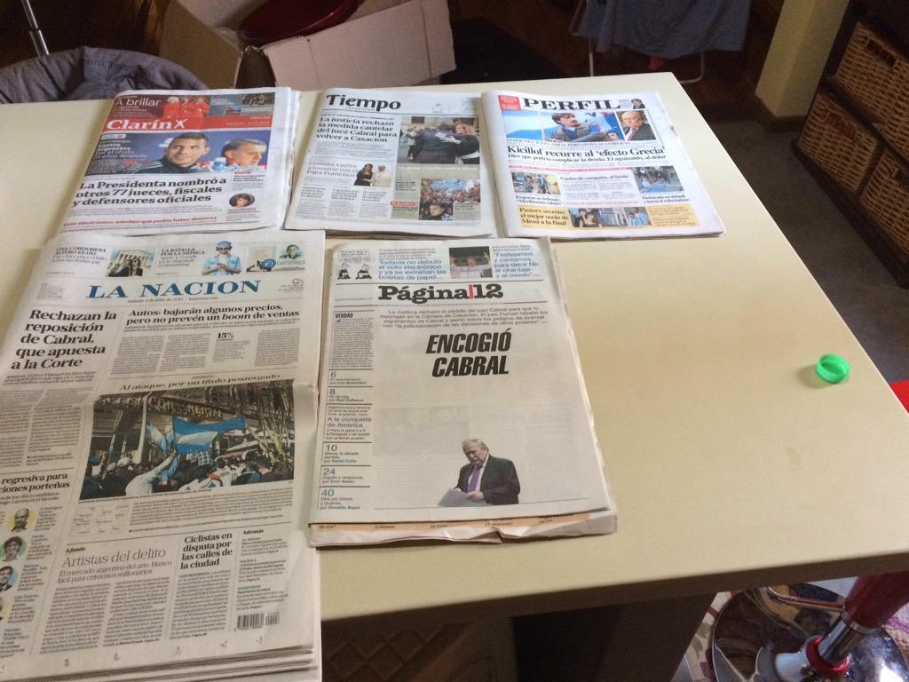 Nada fue portada #votoelectronico #multivoto, allanamiento a @_joac, así estamos... http://t.co/fac0xjJNBb