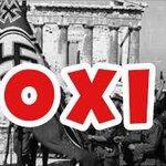 Un NO contro gli Euronazisti, perché la civiltà non è pareggio del bilancio e potere delle banche. #FREEGREECE #OXI http://t.co/e2k5OP13To