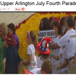 Watch NOW: Live #ABC6 video of the #UpperArlington #July4th Parade http://t.co/F8Z2ZARodx @CityofUA @SlingerWSYX6 http://t.co/8WYbriIl3Y