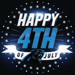 Happy 4th of July #Panthers fans! #IndependenceDay #USA http://t.co/WScClqF67k