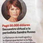 Esto deja 2 cosas en evidencia. La escasa capacidad periodística y el abundante patrimonio de Sandra Russo http://t.co/BapJBibZHZ