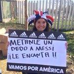 AHÍ LA TENES A LA PELOTUDA! http://t.co/0CkvHl9G9Y