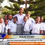 Your Story: The tallest girl of Gikurune High School Jacqueline Mwendwa is 6 feet, 9 inches tall #FashionWatch http://t.co/yy5J1gBERS
