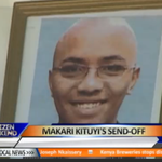 Mourners attend Kituyi's son burial. 31yr old Makari was found dead by friends at his Nairobi home. #FashionWatch http://t.co/mhSH4Rzv0e