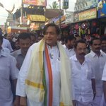Walking through Balaramapuram junction where I inaugurated a high mast light from my MP funds
