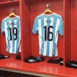 A una hora de #LaGranFinal, mirá cómo están los vestuarios de #Argentina y #Chile►http://t.co/cowMeE1Qb9 http://t.co/1DhIaIZMWu