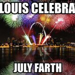 Happy #farth, STL! #July4th http://t.co/L4GZaiy5rk