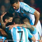 Vamos Argentina! Hoy dejamos todo! #VolverACreer #ARG #CHI http://t.co/DcqzaFMrNy