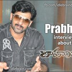 RT @idlebraindotcom: Prabhas interview about Baahubali  http://t.co/fOB2992j31 #BaahubalionJuly10th
