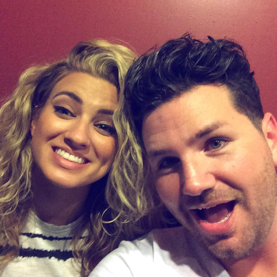 One of the kindest, hardest working people I've ever met!  Thanks @ToriKelly for having me on the #whereibelongtour http://t.co/RsShWfSrkb