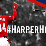 BRYCE. HARPER. Theres HR No. 25!!! A two-run shot into the #Nats bullpen scores #Yuni and puts the #Nats up, 3-0! http://t.co/3dLTmMZq3C