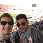 Con mi amigo @matiascanillan en la previa de la gran final #Chile2015 #Argentina vs #Chile @Continental_ AM 590 http://t.co/QykIgB3Fbn