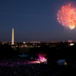 """From my family to yours, have a safe and happy #FourthOfJuly!"" —@POTUS: http://t.co/NnS0kM3L7Z http://t.co/ZSZthxoWy6"