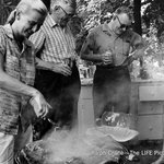 NASA Mercury 13 member Jerrie Cobb (left) fires up the barbecue in 1959. http://t.co/RGTn31D89T