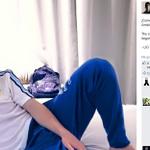 #VamosArgentina: #Messi publicó una foto de cómo amaneció y ya palpita la final ante Chile ▶ http://t.co/4WyxDWfsJt http://t.co/ljOUarUSQP