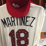 """""""@Cardinals: The Cardinals will be taking the field in these uniforms today. http://t.co/aGiDC22XGj"""" @I_am_Pablo_ these jerseys are sick!!"""