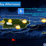 Partly cloudy, breezy and hazy with only a slight chance of shwrs/tstms for western PR this afternoon #prwx #usviwx http://t.co/z0quSMqSKG