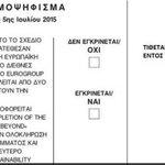 How to vote in #referendum #Greececrisis #Greferendum #dimopsifisma http://t.co/VbL0YhhwvE http://t.co/rWb0IKLneB