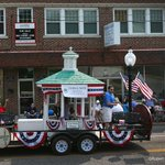 A little surprised to see all-white #Ferguson mayor and city council float in 4th of July parade. http://t.co/2KJzmaivFg