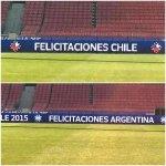 Lo + Visto| En el Nacional celebraron título de Chile y Argentina antes de tiempo → http://t.co/bgsCFSuxBR http://t.co/0THwchZ9cX