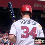 VIDEO: Bryce Harper hit the most patriotic home run ever on #July4th ???????????????????????? http://t.co/NR4auvDDrV http://t.co/S9WWIs5rUp