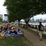 Its only 1:15!! Memorial Drive, Cambridge #july4th #boston @universalhub @BostonTweet http://t.co/EDdTJAT5wg