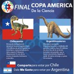¿#CHI o #ARG? quien gana la #CopaAmerica de la Ciencia #VamosChile https://t.co/jVhshd9JE2 http://t.co/xd4AIZrnkv