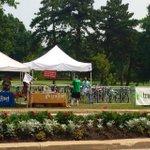 Bicycle valet. Brilliant idea for @FairSaintLouis @ForestPark4Ever @Trailnet http://t.co/7xr5JvHtj6